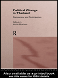 Ebook in inglese Political Change in Thailand