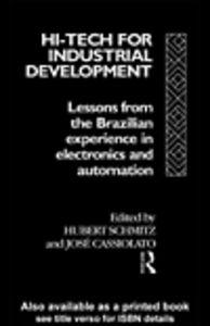 Ebook in inglese Hi-Tech for Industrial Development
