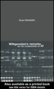 Foto Cover di Wittgenstein's Remarks on the Foundations of AI, Ebook inglese di Stuart Shanker, edito da