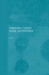 Financing China's Rural Enterprises