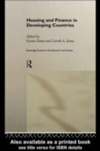 Foto Cover di Housing and Finance in Developing Countries, Ebook inglese di Kavita Datta,Gareth Jones, edito da Taylor and Francis