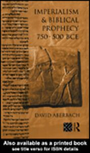 Ebook in inglese Imperialism and Biblical Prophecy Aberbach, David