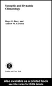 Synoptic and Dynamic Climatology