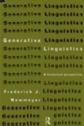 Generative Linguistics