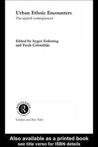 Ebook in inglese Urban Ethnic Encounters