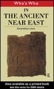 Ebook in inglese Who's Who in the Ancient Near East Leick, Gwendolyn