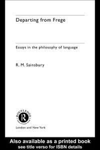 Ebook in inglese Departing from Frege Sainsbury, Mark