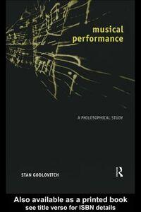 Foto Cover di Musical Performance, Ebook inglese di Stan Godlovitch, edito da