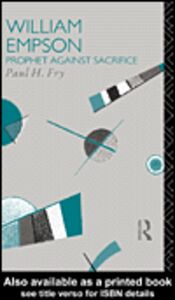 Ebook in inglese William Empson Fry, Paul H.