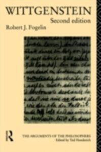 Ebook in inglese Wittgenstein Fogelin, Robert J.