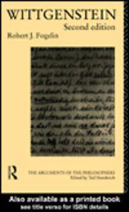 Foto Cover di Wittgenstein, Ebook inglese di Robert J. Fogelin, edito da