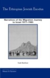 Ebook in inglese Ethiopian Jewish Exodus BenEzer, Gadi