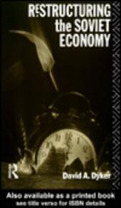 Restructuring the Soviet Economy