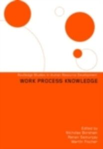 Foto Cover di Work Process Knowledge, Ebook inglese di AA.VV edito da Taylor and Francis