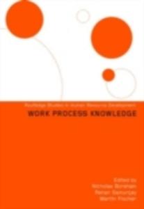 Ebook in inglese Work Process Knowledge Boreham, Nicholas , Fischer, Martin , Samurcay, Renan