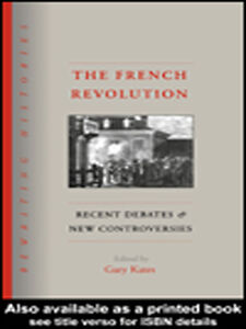 Foto Cover di The French Revolution, Ebook inglese di Gary Kates, edito da