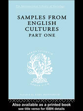 Samples from English Cultures