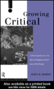 Ebook in inglese Growing Critical Morss, John R.