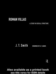 Foto Cover di Roman Villas, Ebook inglese di J.T. Smith, edito da