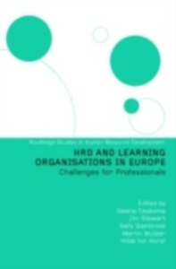 Ebook in inglese HRD and Learning Organisations in Europe -, -