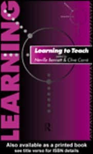 Ebook in inglese Learning to Teach