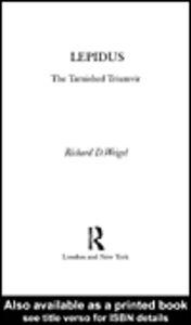 Ebook in inglese Lepidus Weigel, Richard D.