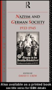 Ebook in inglese Nazism and German Society 1933-1945