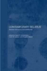 Foto Cover di Contemporary Belarus, Ebook inglese di  edito da Taylor and Francis
