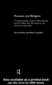 Ebook in inglese Peasants and Religion Lundhal, Mats , Lundius, Jan