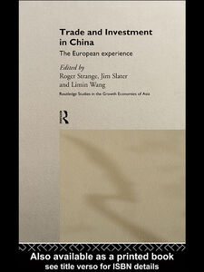 Ebook in inglese Trade and Investment in China