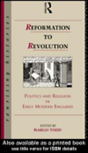 Ebook in inglese Reformation to Revolution Todd, Margo