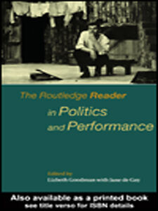 Ebook in inglese The Routledge Reader in Politics and Performance