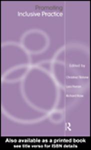 Ebook in inglese Promoting Inclusive Practice