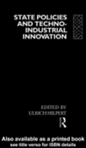 Ebook in inglese State Policies and Techno-Industrial Innovation