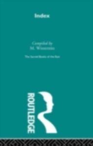 Foto Cover di Index, Ebook inglese di F. Max Muller, edito da Taylor and Francis