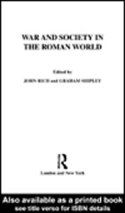 Ebook in inglese War and Society in the Roman World