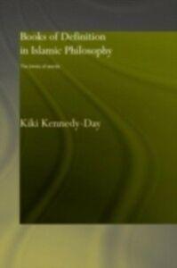 Ebook in inglese Books of Definition in Islamic Philosophy Kennedy-Day, Kiki