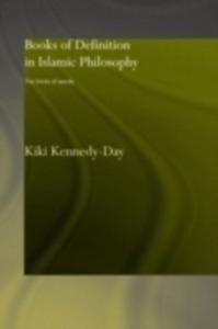 Ebook in inglese Books of Definition in Islamic Philosophy Kennedy-Day, Kiki
