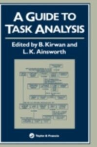 Ebook in inglese Guide To Task Analysis -, -