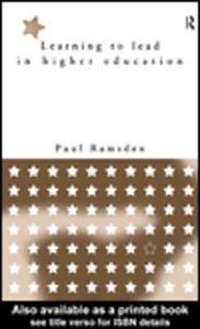 Ebook in inglese Learning to Lead in Higher Education Ramsden, Paul