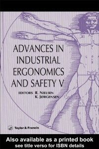Ebook in inglese Advances In Industrial Ergonomics And Safety V