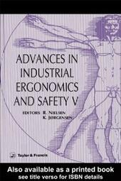 Advances In Industrial Ergonomics And Safety V