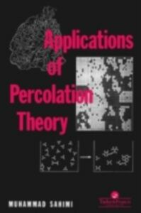 Ebook in inglese Applications Of Percolation Theory Sahimi, M , Sahini, M