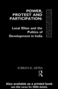 Ebook in inglese Power, Protest and Participation Mitra, Subrata K.