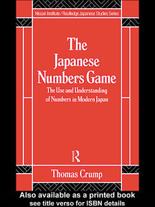 Ebook in inglese Japanese Numbers Game Crump, T