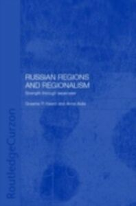 Ebook in inglese Russian Regions and Regionalism