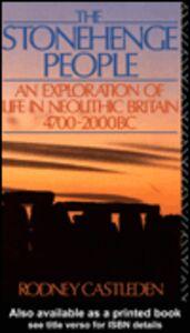 Ebook in inglese The Stonehenge People Castleden, Rodney