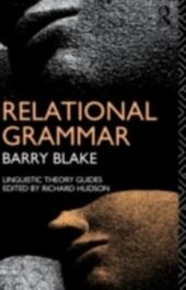 Relational Grammar
