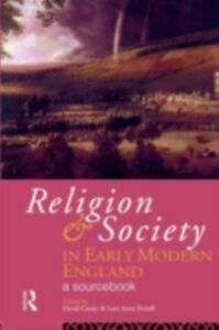 Ebook in inglese Religion and Society in Early Modern England -, -
