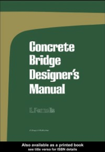 Ebook in inglese Concrete Bridge Designer's Manual Pennells, E.